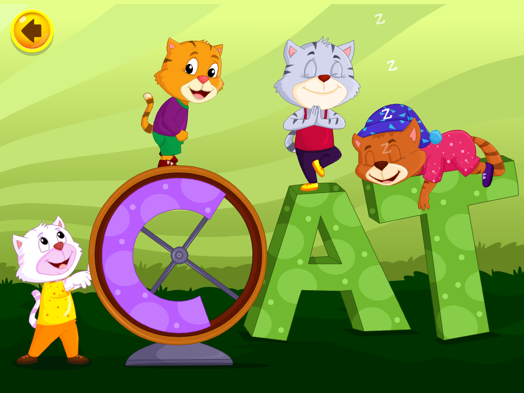 C cat alphabet