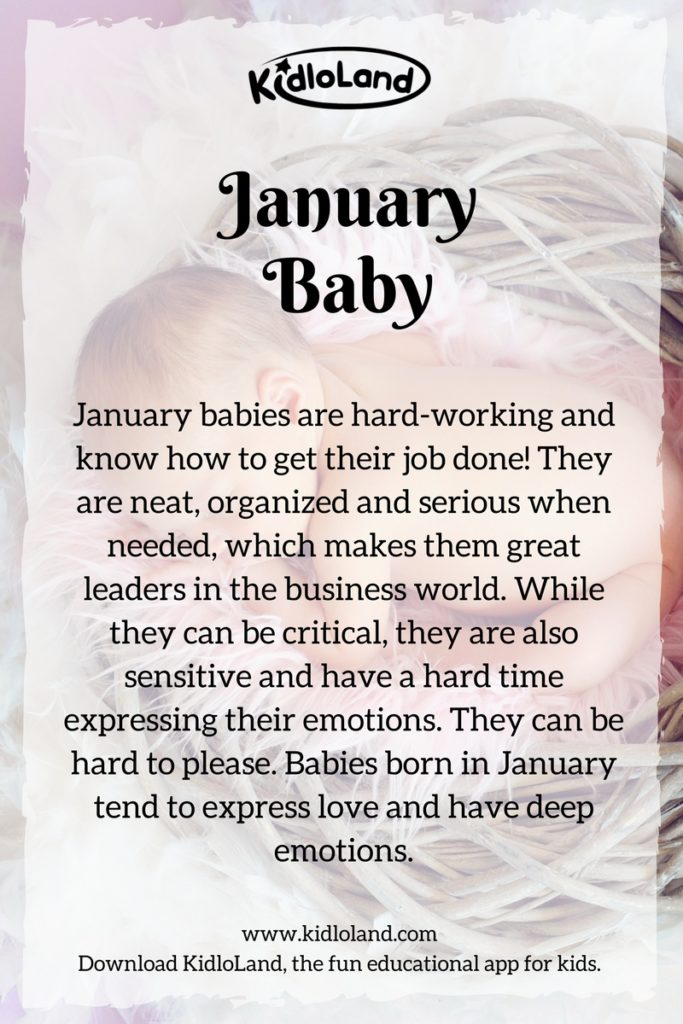 What Does Your Baby's Birth Month Mean? - KidloLand
