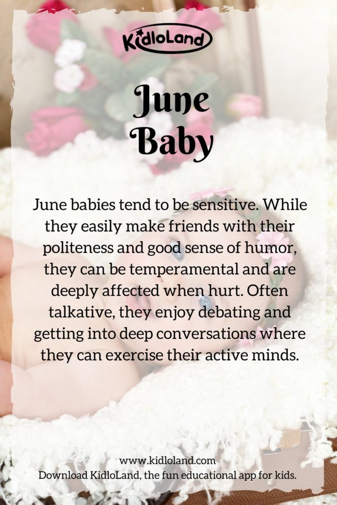 june-baby-month