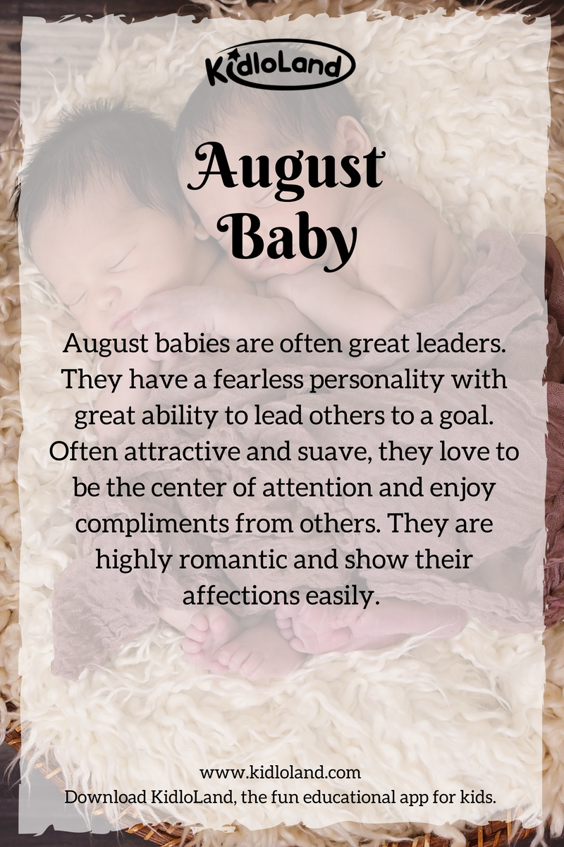 august-baby-month