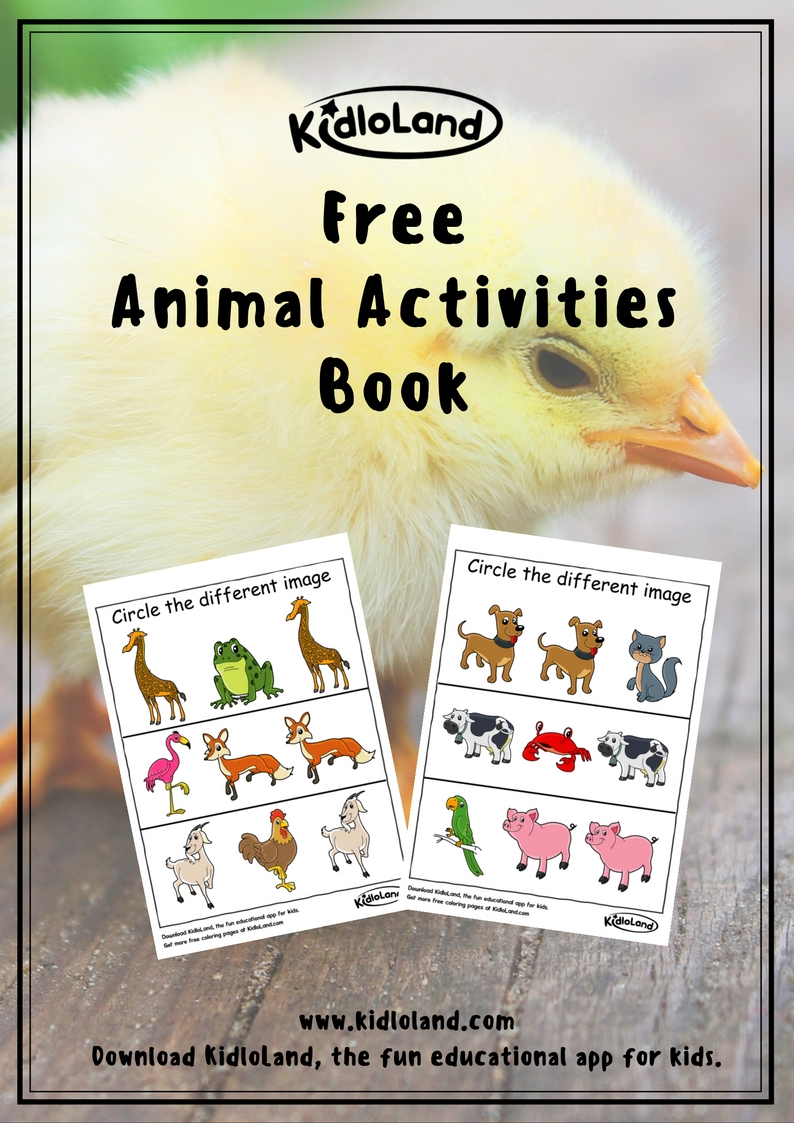 free-animal-activities-book