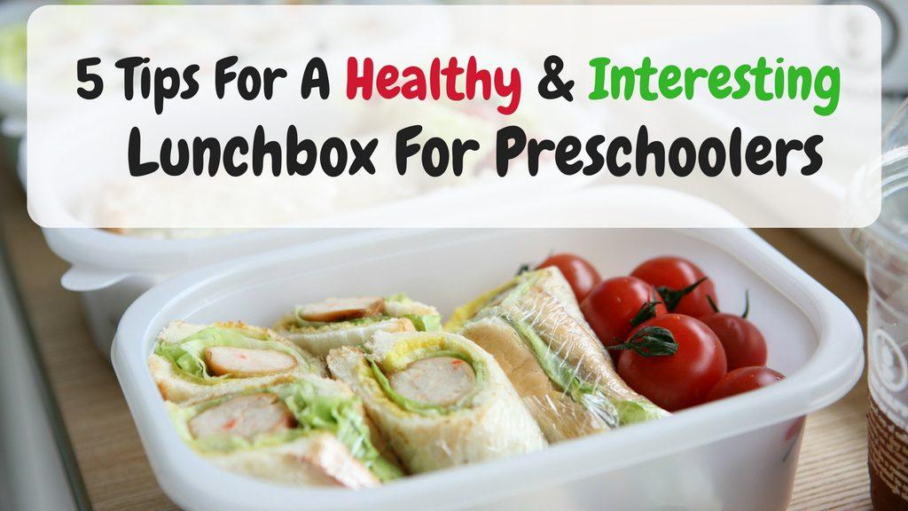 lunchbox tips preschoolers
