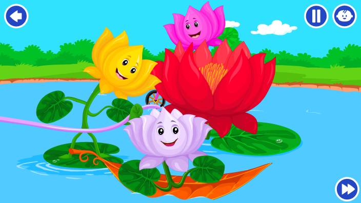 Lotus Flower Song Songs For Your Kids Kidloland