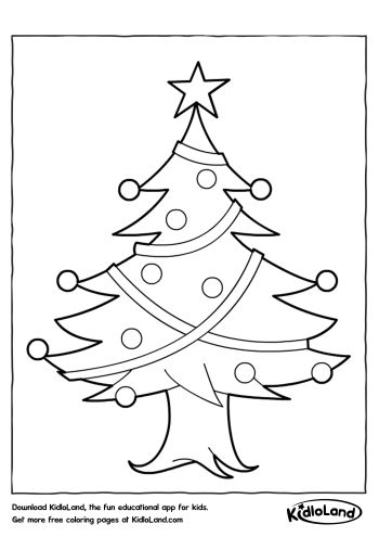 Christmas Coloring Pages  Free Printables For Your Kids  KidloLand