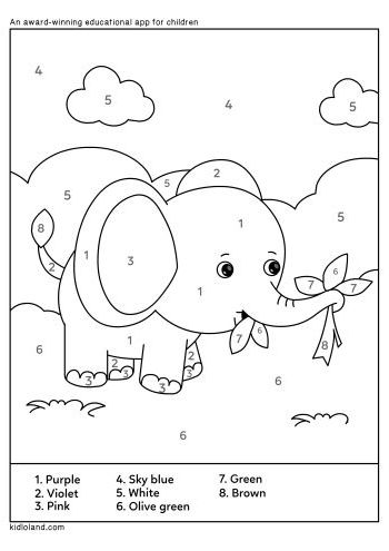 Download Free Color By Number 37 and educational activity ...