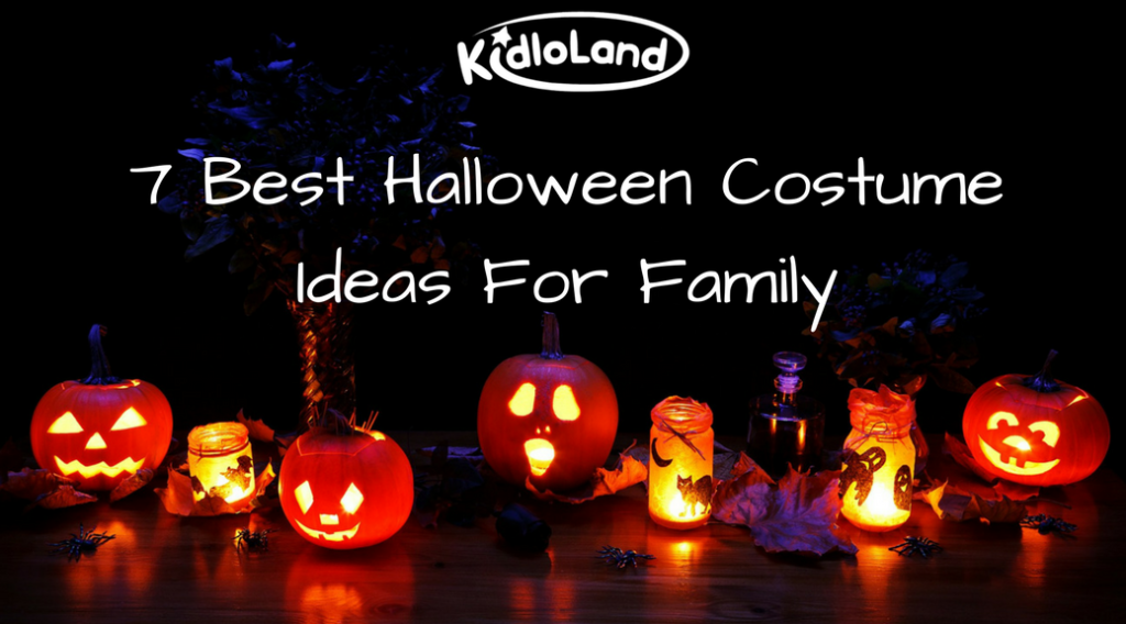 7 Best Halloween Costume Ideas For Family