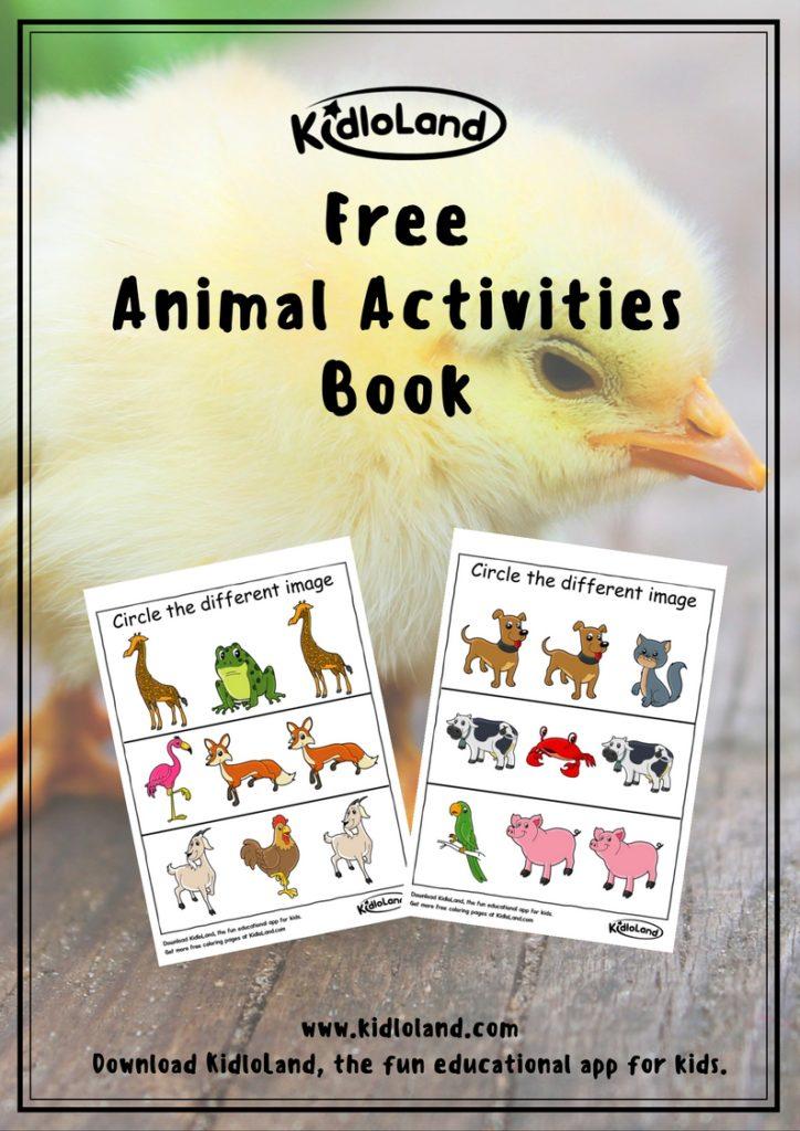 free-animal-activities-book