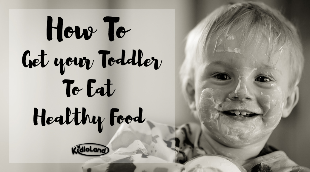 kids eat healthy food