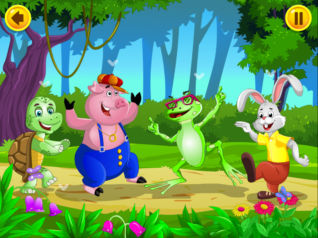 nursery rhyme app for kids