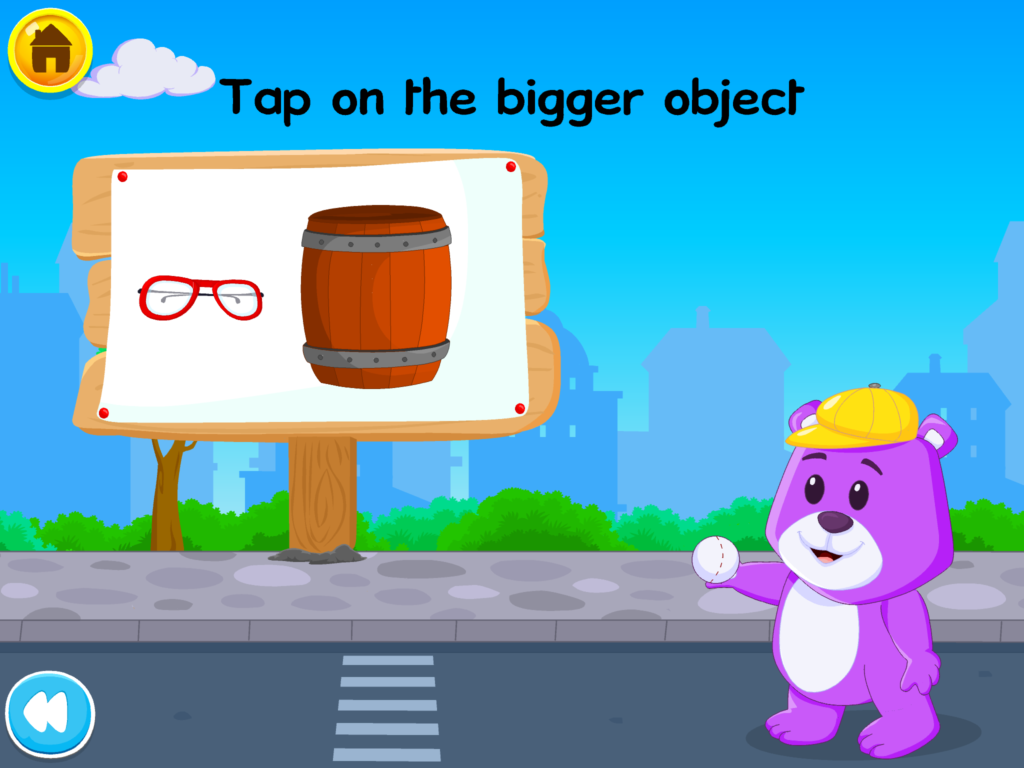 child learn classify objects