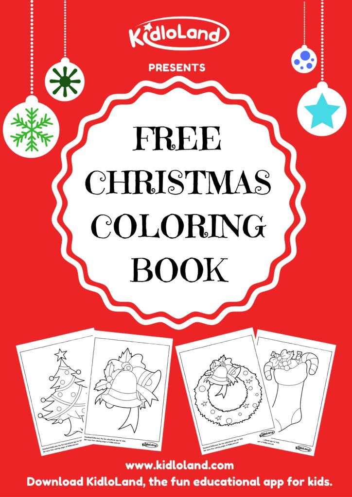 Christmas printables for preschoolers