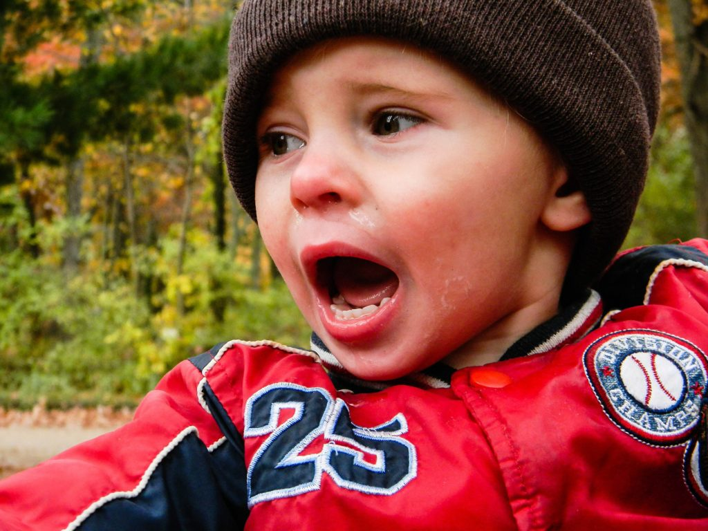 toddler temper tantrums