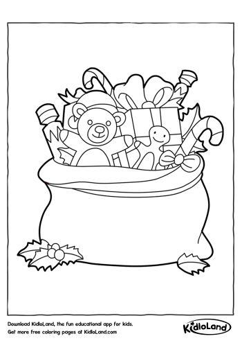 gift bag coloring page free printables for your kids kidloland