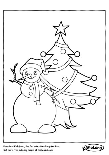 Tree Coloring Pages Ideas For Children | Christmas tree stencil ... | 495x350