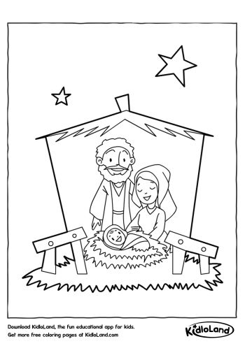 Jesus Birth Coloring Pages F5TO Jesus Is Born Coloring Page (With ... | 495x350