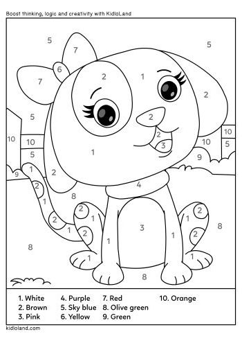 Download Free Color By Number 32 and educational activity ...