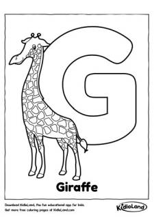 Alphabet_G_Coloring_Page_kidloland