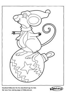 Rat Coloring Page
