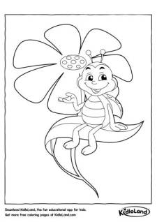Beetle Coloring Pages