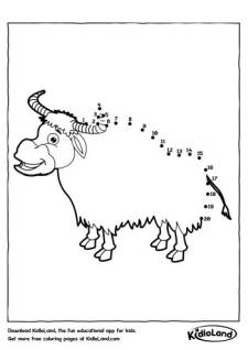 Dot To Dot Yak