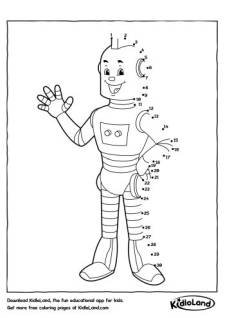 Dot To Dot Robot