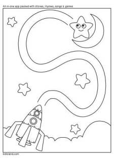 Rocket and Star Maze